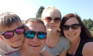 Nikki Woodhead and family
